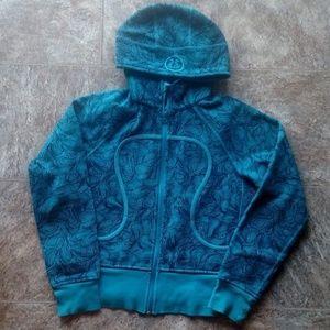 Lululemon Scuba Patterned Teal Blue